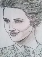 Dianna Agron by TesSparrow