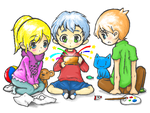 Childhood full of colors! by DILAGO