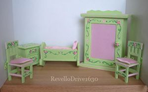 Baby Dollhouse Furniture by RevelloDrive1630