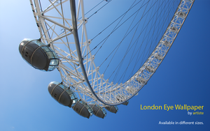 London Eye Wallpaper by photoartiste