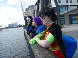 London MCM Expo: Teen Titans 5 by PrincessWombat