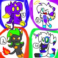 Adoptables!!(CLOSED) by Kassy1011