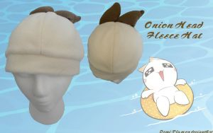 Onion Head Fleece Hat by Demi-Plum