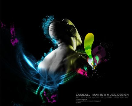 Man in a Music by caiocall