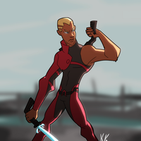 Flashpoint Aqualad(again) by KingKaijuice