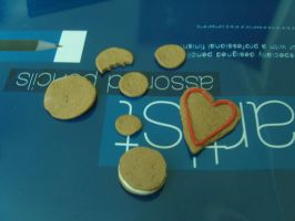 polymer clay biscuits by MLS-photography