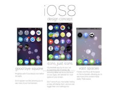 iOS 8 Redesign Concept by studiomonroe