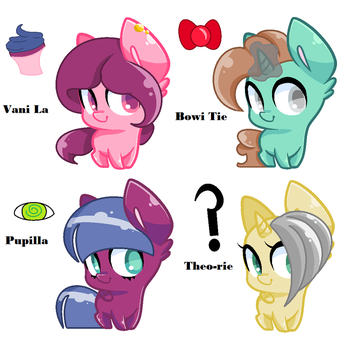Adoptables {FREE} by CecilyCabbage