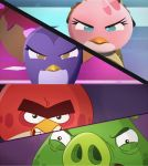 angry birds :the storm by fanvideogames