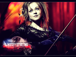 Lindsey Stirling Phantom of the Opera WP by SantiagoCordoba