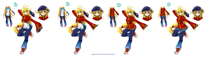 Rolly new outfit by Rolly-Chan
