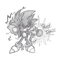Hex Sonic sketched by lossetta932
