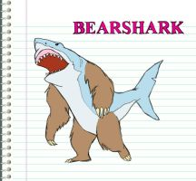BearShark Version 1 by TwiggyMcBones