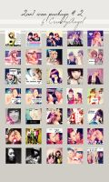 2NE1 Icon Package II by CrunchyAngel