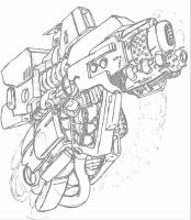 optimus prime apex armor left arm by Hopeyouguessedmyname