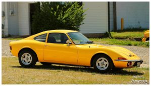 A Yellow Opel GT by TheMan268