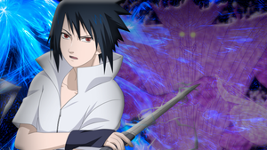 Sasuke Uchiha Wallpaper by DigiTeku