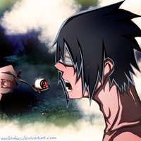 Uchiha Sasuke- My new eyes by Ssabinka