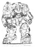 RIFTS NG Beach Master Robot by ChuckWalton