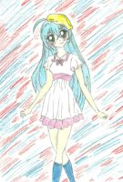 My drawing of Runo Misaki by funnyforbunnies