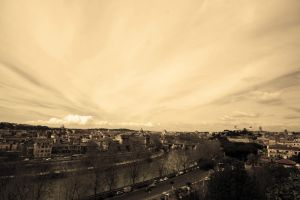 Rome from Aventino hill by NeoTheOne1987
