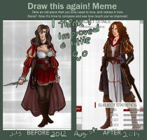 Meme  Before And After Ioana by Ioana-Muresan
