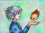 Howl's Moving Castle: Heart in My Hands by kimberly-castello