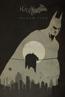 Batman Arkham City Poster by shrimpy99