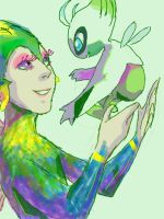 Tooth and Celebi by kemiobsesses