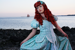 Ariel Disney Park Dress Cosplay by dismaldreary