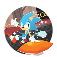 Sonic by Aw0