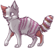 Throws a kitten Bienie at you by SpitfiresOnIce