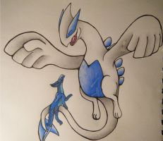 Lugia and Delta :3 by LugiaUmbreonPower