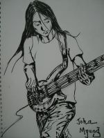 Dream Theater - John Myung by McLazy