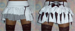Rag-doll skirt by funkyfunnybone