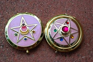 Sailor Moon R Crystal star New Compact by StarlightStudioProps