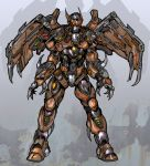 Winged robot by Sw-Art