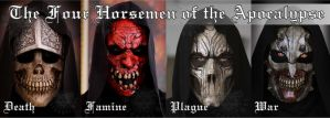 The Four Horsemen of the Apocalypse by Psychopat6666
