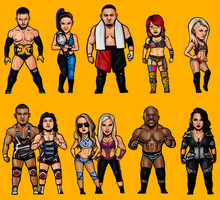 NXT Superstars by SamRAW08