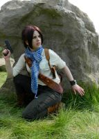 Uncharted Cosplay Rule 63 Desert Drake by LadyofRohan87