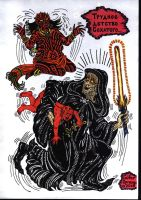Darth Maul-baby and Palpatin by talfar