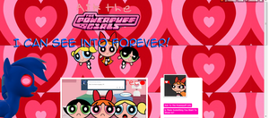 Wing Ace discovers asktothepowerpuffs' blog theme. by mattwo