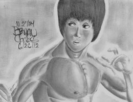 Bruce Lee by BryanChalas