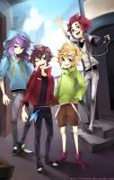 Kings of these streets by kimchii