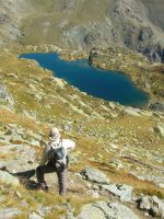 another view of Lake Superiore (2313m) by FraterSINISTER