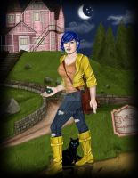 Coraline, All Grown Up by Fefe1414