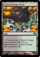 Tainted Orange Grove by WoodenOx