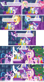Comic Block: EfCE 22 - Flurry's First H'warming by dm29