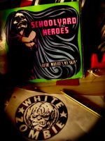 White Zombie+Schoolyard Heroes by Autopsyh