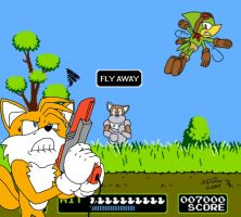 Tails' Duck Hunt by SorcererLance